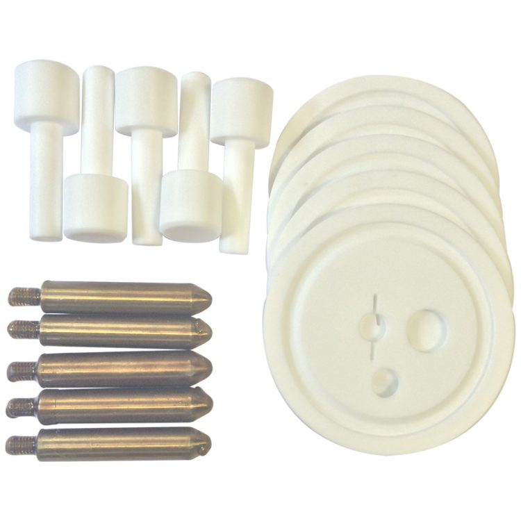 Vertical Test Specimen, PTFE Beaker Cover & PTFE Holder (Pack of 5) - 11290-2 product image
