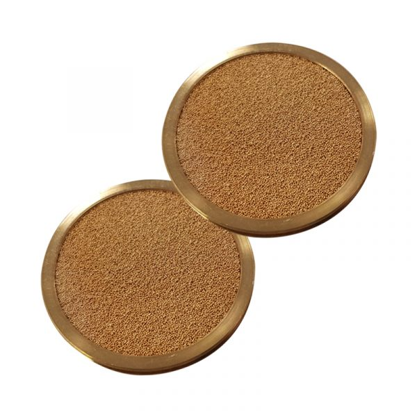 2955: Sintered Brass Filter Support (Pack of 2)