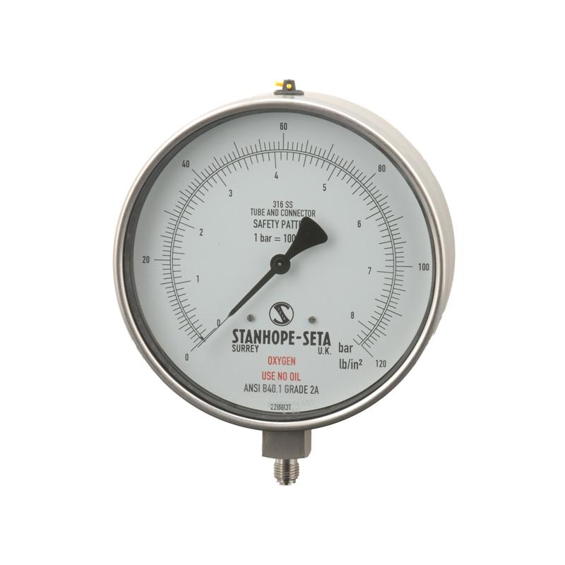 Oxygen Pressure Gauge NH - 16450-0'