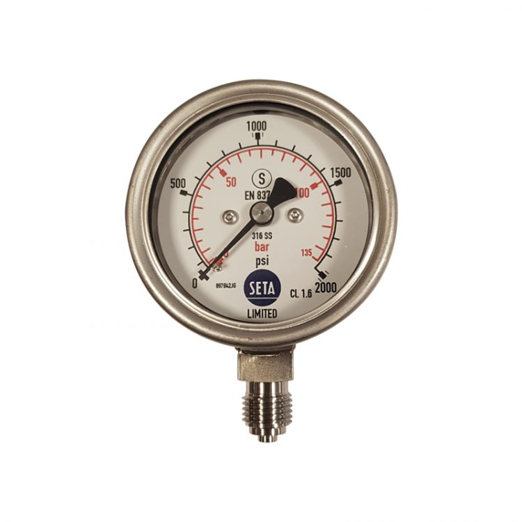 Pressure Gauge 0-140 bar - 22124-0'