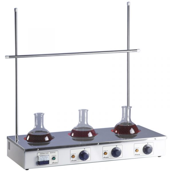 2089: Distillation 500 ml Flask Heater (for up to 3 flasks)