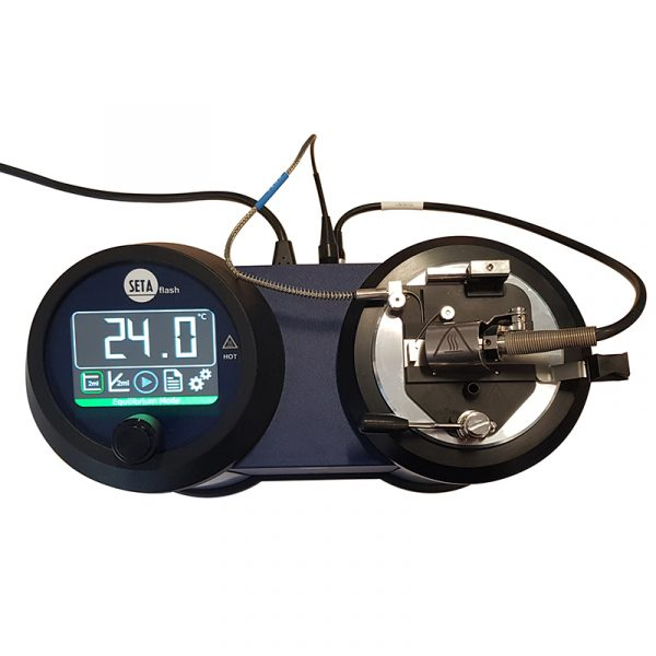 8224: Setaflash Series 3e ActiveCool Flash Point Tester - Corrosion Resistant Cup