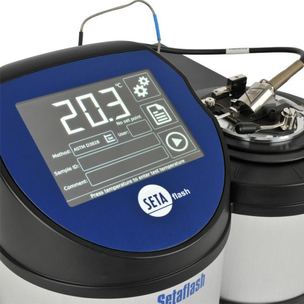 11467: Setaflash Series 8 Flash Point Tester with Gas Ignitor - High Temperature