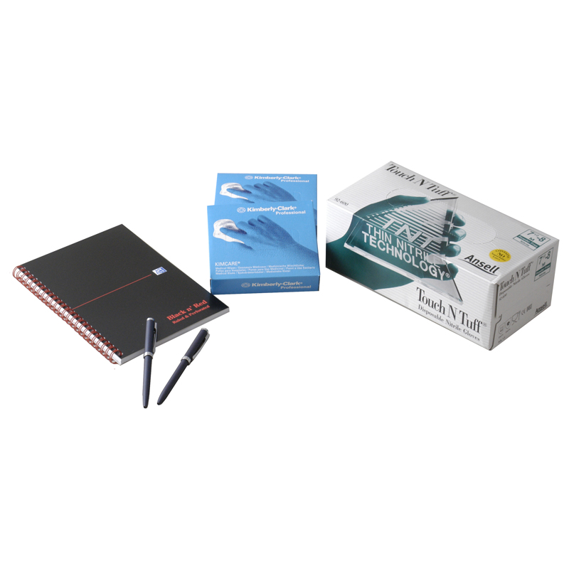Consumables (gloves, tissues and pad) - 86500-003 product image