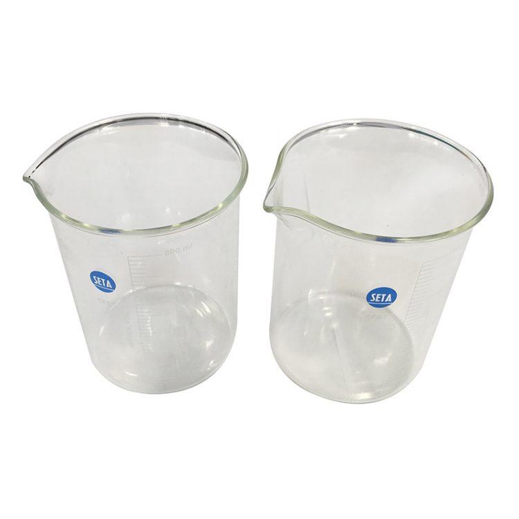 Glass Beaker, CFBT & CSCFBT, 800 ml (pack of 2) - 91670-001'