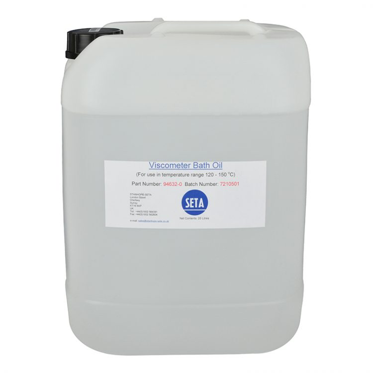 Viscometer Bath Oil 120 – 150 °C (20 litres) - 94632-0 product image