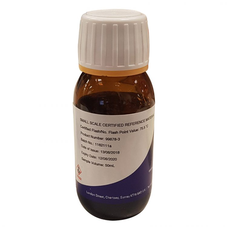 Small Scale Certified Flash Point Material (50 ml) - 99878-3 product image