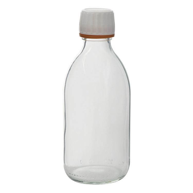 AvCount 250ml Sample Bottle & Caps (pack of 53) - SA1004-0 product image