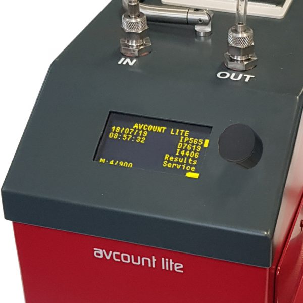 8772: AvCount Lite Particle Counter