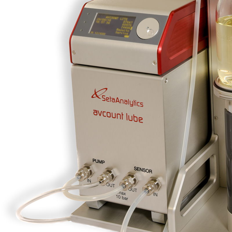 AvCount Lube Particle Counter