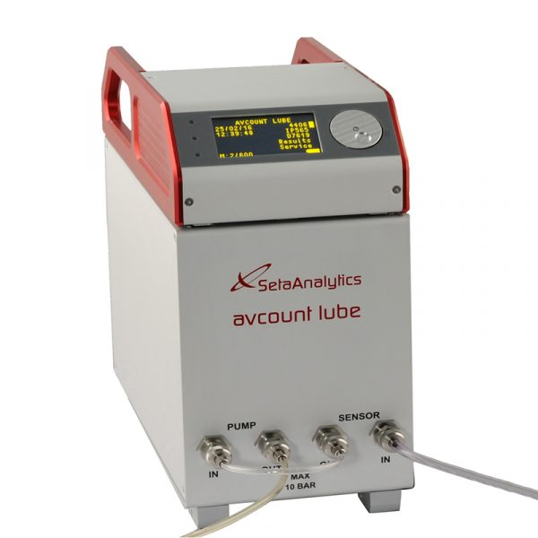 1212: AvCount Lube Low-Visc Particle Counter
