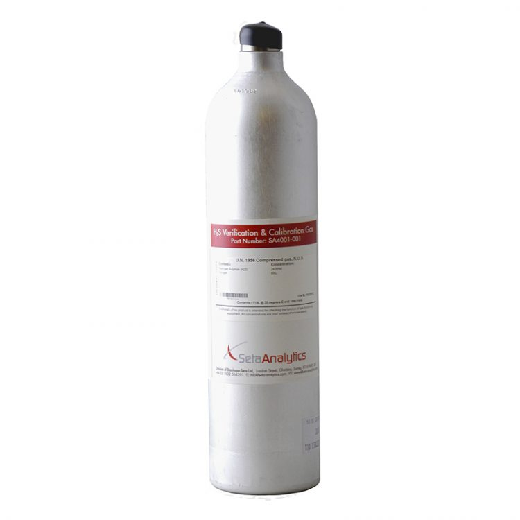 H2S Replacement Reference Gas (110 litre) - SA4001-001'
