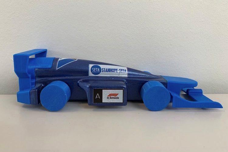 15660: Team Imperium sponsored by Stanhope-Seta head to the F1 in Schools regional final